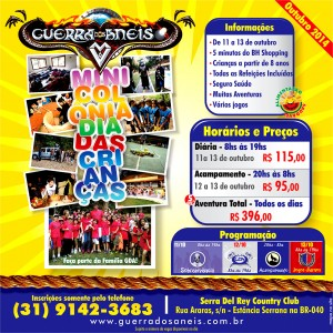 Flyer Mini Colonia GDA - 2014